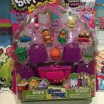 Baby Swipes Shopkin Excellent Shopkins Season 3 5 Pack with 5 Shopping Bags Brand New Retired Htf