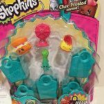 Baby Swipes Shopkin Exclusive Shopkins Season 3 5 Pack with 5 Shopping Bags Brand New Retired Htf