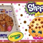 Baby Swipes Shopkin Marvelous Shopkins Coloring Book Crayola Speed Color Of Kooky Cookie