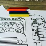 Back to School Coloring Sheets Best Of Back to School Free Coloring Page Set