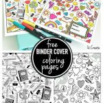 Back to School Coloring Sheets Best Of Binder Cover Coloring Pages Pins I Love