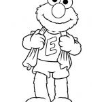Back to School Coloring Sheets Best Of Elmo Color Pages Free Printable Inspirational Elmo Color Pages Free