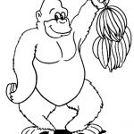 Bananas Beanie Boo Best Of 63 Gorilla Coloring Pages Free Aias