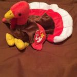 Bananas Beanie Boo Inspirational Used Two Red and White Ty Beanie Baby Plush toys for Sale In Dennis