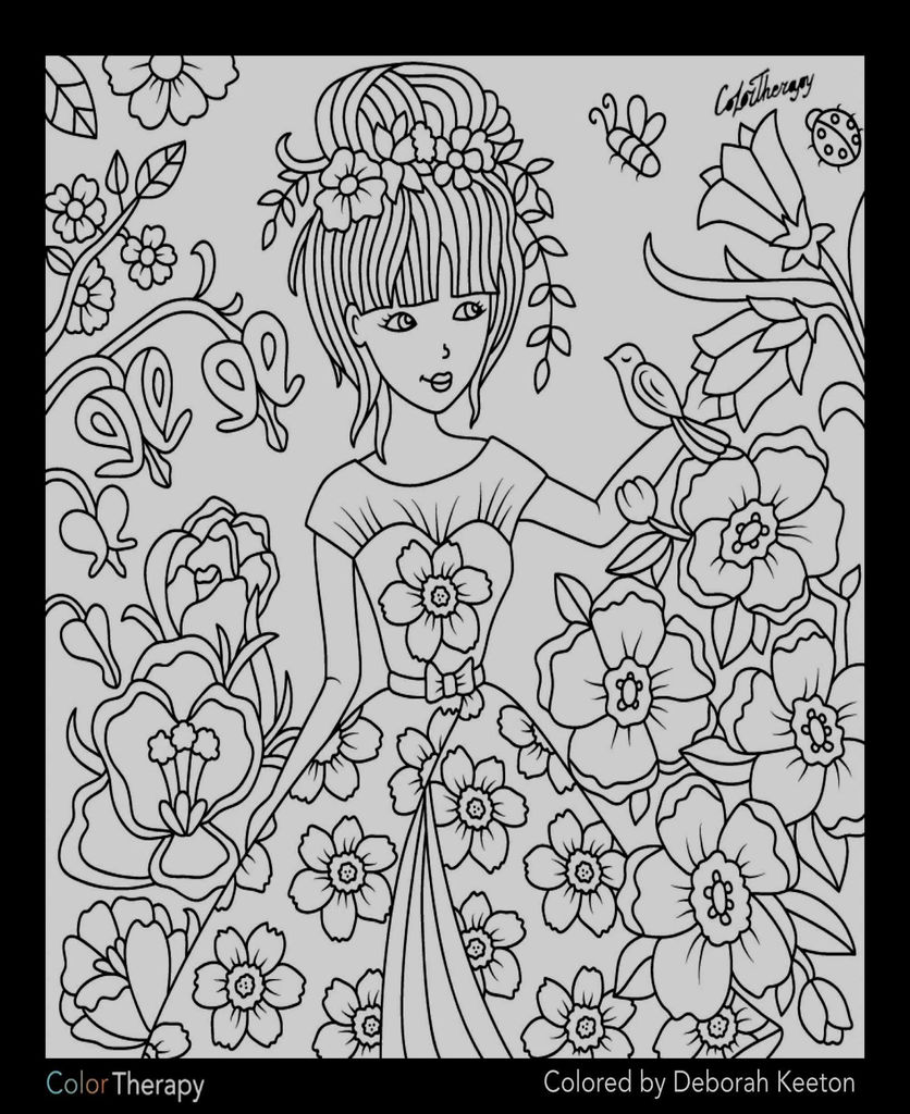 14 Awesome Barbie Coloring Page kanta