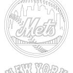 Baseball Teams Coloring Pages Excellent New York Mets Logo Coloring Page From Mlb Category Select From