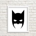 Batman Mask Stencil Awesome Easy Batman Mask Printable Template – Daily Motivational Quotes
