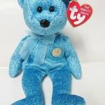 "Beanie Boo Speckles Excellent Ty Beanie Baby ""classy"" the People S Beanie Bear Brand New W Mint Tags"