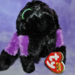 Beanie Boo Speckles Excellent Ty Beanie Boos Creeper the Purple Spider Boo