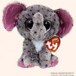 Beanie Boo Speckles Marvelous New Ty Beanie Boos Specks the Spreckled Elephant Glitter Eyes Regular Size 6 Inch Cute Plush toys 6 15cm Ty Plush Animals Big Eyes Eyed Stuffed