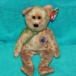 Beanie Boo Speckles Pretty Ty Beanie Babies Speckles the E Beanie Bear Nwt Retired Dob