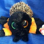 Beanie Boo Speckles Pretty Ty Beanie Boos Hairy the orange Spider Boo