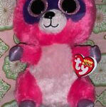 Beanie Boo Speckles Wonderful Ty Beanie Boo 3 Roxie the Raccoon Clip for Sale Online