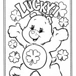 Bear Coloring Pages Awesome Free Printable Care Bear Coloring Pages for Kids