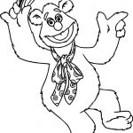 Bear Coloring Pages Excellent the Muppets Fozzie Bear Coloring Pages Drawing