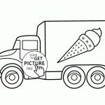Big Trucks Coloring Pages Amazing Coloring Page Semi Truck Coloring Pages Fire Page Free Printable