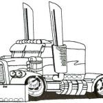 Big Trucks Coloring Pages Awesome Coloring Pages for Kids Fall Line Free Disney Pin by Truck Art