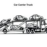 Big Trucks Coloring Pages Awesome Semi Truck Coloring Page