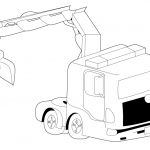 Big Trucks Coloring Pages Elegant Trucks Coloring Pages