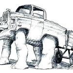 Big Trucks Coloring Pages Excellent Truck Coloring – 488websitedesign