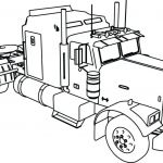 Big Trucks Coloring Pages Inspired Coloring astonishing Truck to Color Image Inspirations