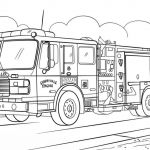 Big Trucks Coloring Pages Marvelous Coloring Page Semi Truck Coloring Pages Fire Page Free Printable