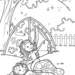 Birthday Coloring Page Unique Prodigious Coloring Pages Moon Festival Printable Picolour