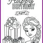 Birthday Coloring Pages for Kids Awesome Happy Birthday Coloring Pictures