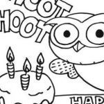 Birthday Coloring Pages for Kids Inspirational √ Cute Animal Coloring Pages and Happy Birthday Kids Leprechaun