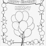 Birthday Coloring Pages for Kids Inspirational Awesome Birthday Coloring Pages Fvgiment