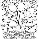 Birthday Coloring Pages for Kids New Coloring Coloring Pages Printables Cartoon Characters Best now