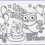 Birthday Coloring Pages for Kids New Funny Birthday Cards Printable Tuckedletterpress