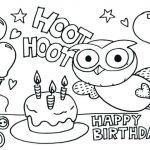 Birthday Coloring Pages for Kids Unique Coloring Pages for Kids Balloons – Spikedsweettea