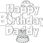 Birthday Coloring Pages Free Inspiration Awesome Happy Birthday Cake Coloring Pages – Howtobeaweso