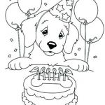 Birthday Coloring Pages Printable Brilliant Birthday Color Pages – Nightcodefo