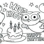 Birthday Coloring Pages Printable Marvelous 18 Elegant Happy Birthday Coloring Pages