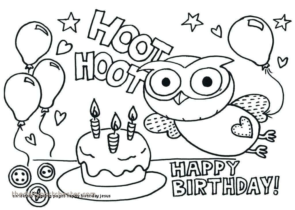 18 Elegant Happy Birthday Coloring Pages