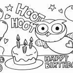 Birthday Coloring Pages Printable Pretty Birthday Cake Coloring Pages – Coloring Pages Online