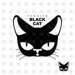 Black Cat Silhouette Exclusive Black Cat Logo Vector Image Of Icons and Emblems © Maryvalery