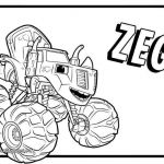 Blaze Monster Truck Coloring Pages Amazing 30 Amazing for Blaze and the Monster Machine Coloring Pages Image