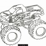Blaze Monster Truck Coloring Pages Best T Maxx Monster Truck Printable Coloring Page