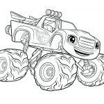 Blaze Monster Truck Coloring Pages Brilliant Coloring – Page 27 – Carriembecker