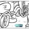 Blaze Monster Truck Coloring Pages Creative Coloring Books Coloring Books Grave Digger Monster Truck Page for