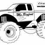 Blaze Monster Truck Coloring Pages Creative Fresh Bigfoot Monster Truck Coloring Pages – Lovespells