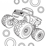 Blaze Monster Truck Coloring Pages Exclusive Blaze and the Monster Machines Coloring Pages