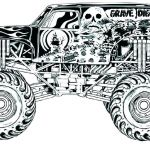 Blaze Monster Truck Coloring Pages Inspirational Monster Truck Coloring Pages Free Printable 4 Ideas Semi