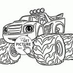 Blaze Monster Truck Coloring Pages Pretty Coloring Monster Trucking Fabulous Cool Race Car Pages for Adults