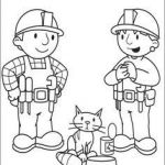 Bob the Builder Coloring Book Awesome Bob the Builder Color Page Cartoon Characters Coloring Pages Color