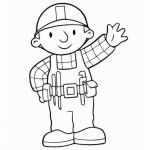Bob the Builder Coloring Book Beautiful Bob the Builder Coloring Pages Free Coloring Home