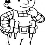 Bob the Builder Coloring Book Elegant Nice Bob the Builder Think Coloring Page Wecoloringpage